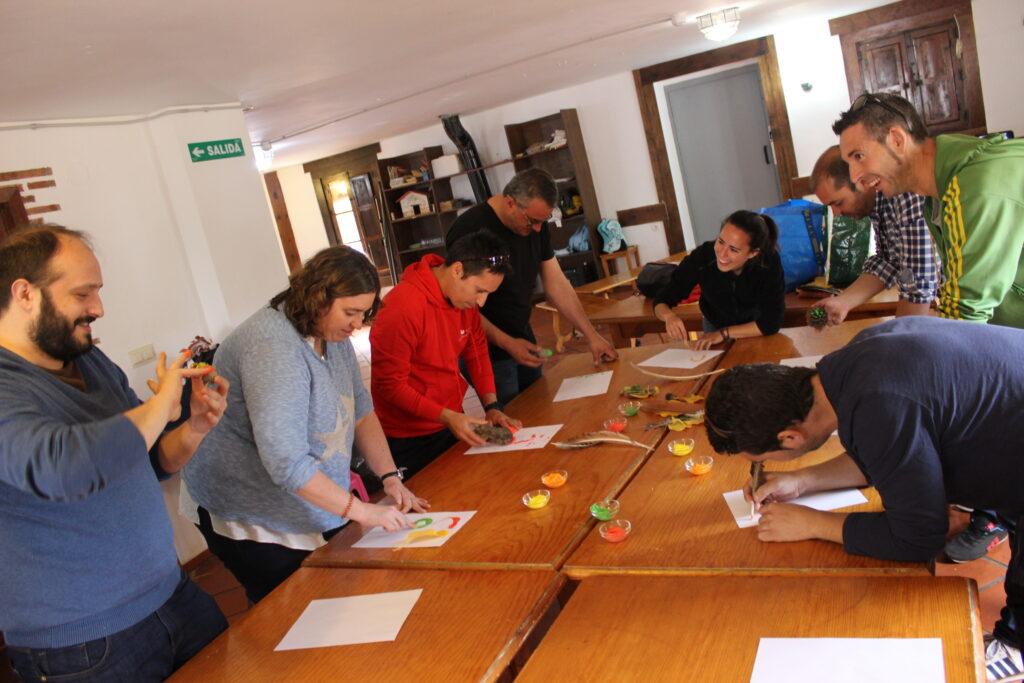 taller biomímesis Escuela Parapanda